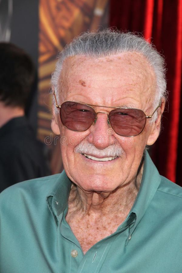 Stan Lee stock afbeeldingen