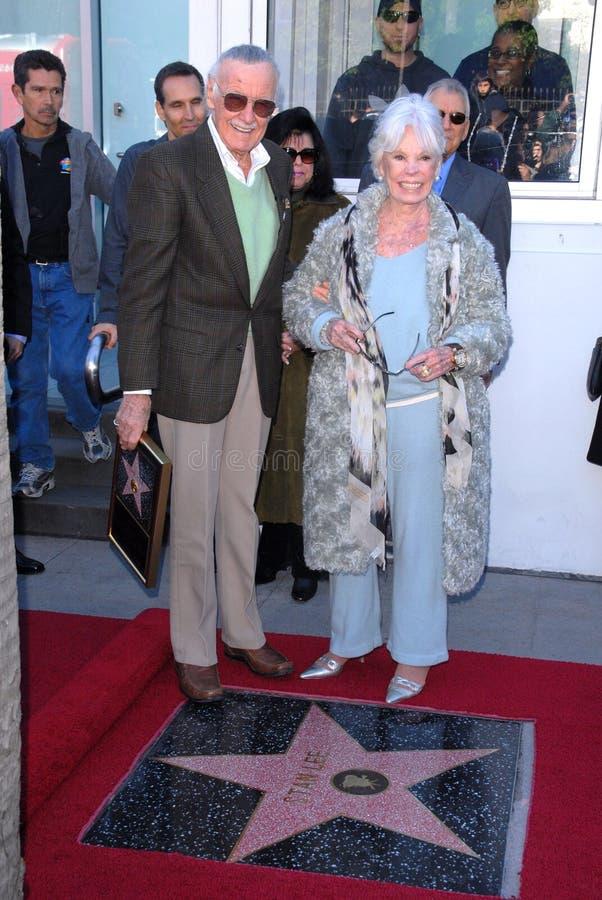 Stan Lee fotografia stock