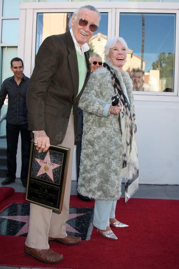 Stan Lee royaltyfria bilder