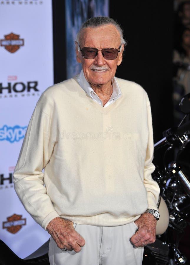 Stan Lee imagem de stock royalty free