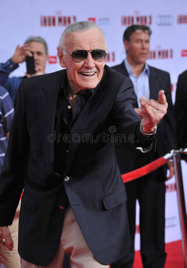 Stan Lee stock foto