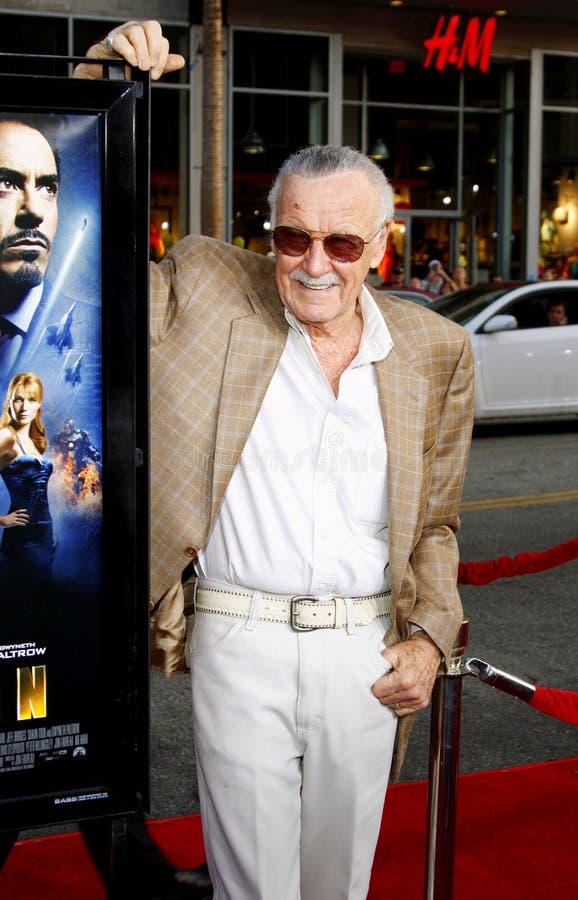 Stan Lee imagens de stock royalty free