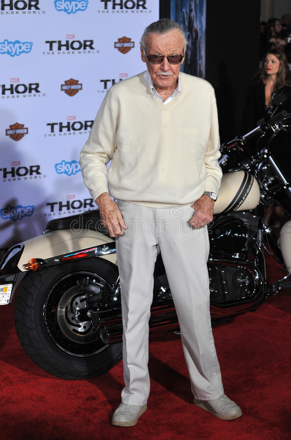 Stan Lee stock photography
