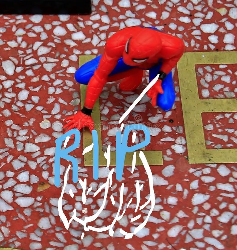 Stan Lee`s memorial on star royalty free stock photos