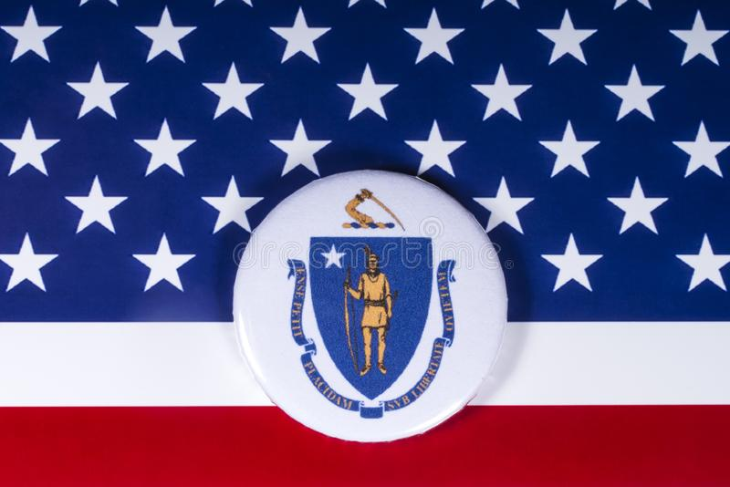 Stan Massachusetts w usa fotografia royalty free