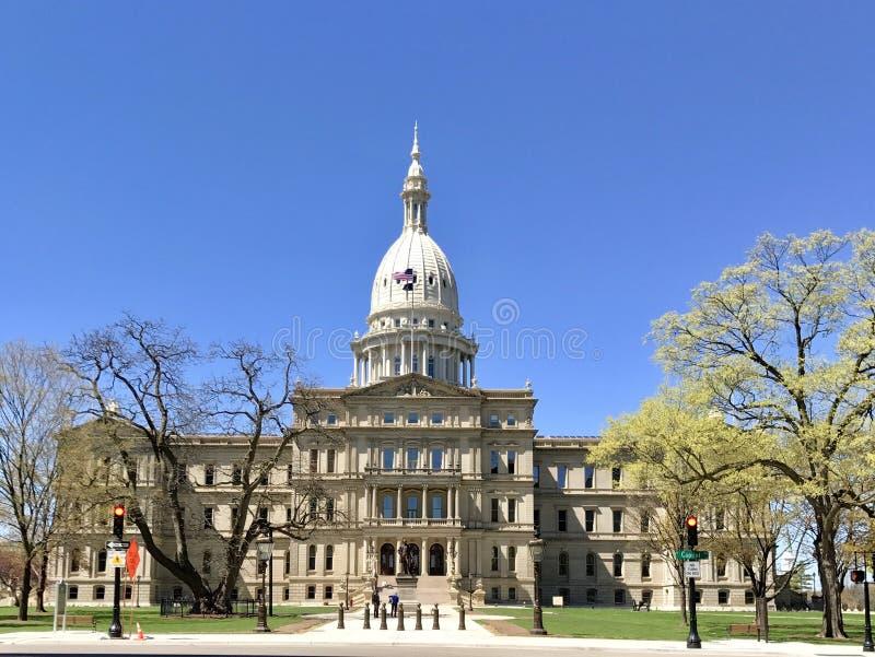 Stan Michigan Capitol fotografia stock