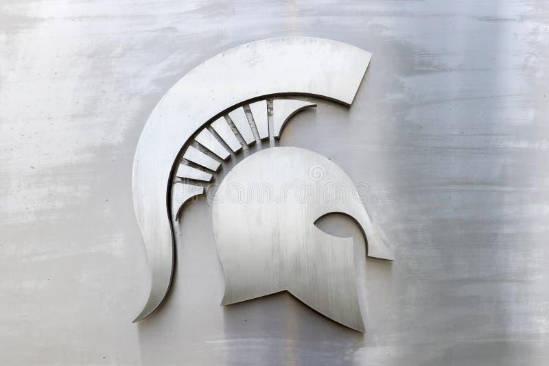 Stan Michigan uniwersyteta spartan stadium zdjęcia stock