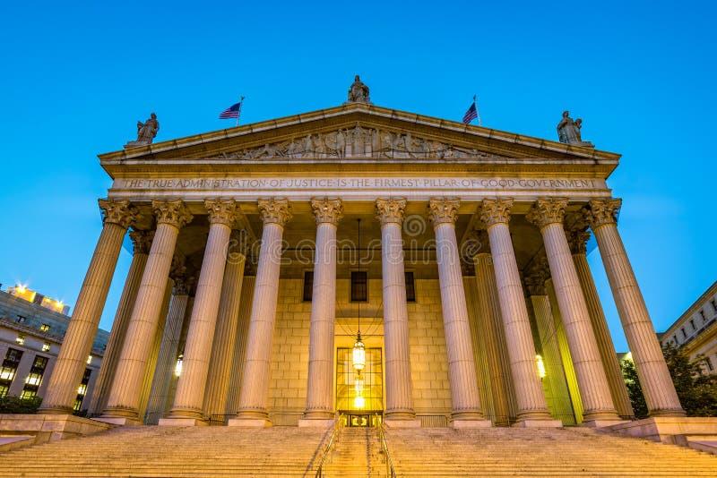Stan Nowy Jork sąd najwyższy zdjęcia stock