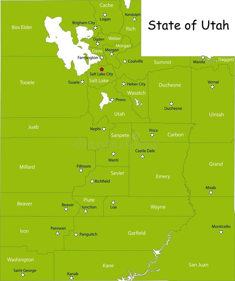 Stan Utah ilustracji