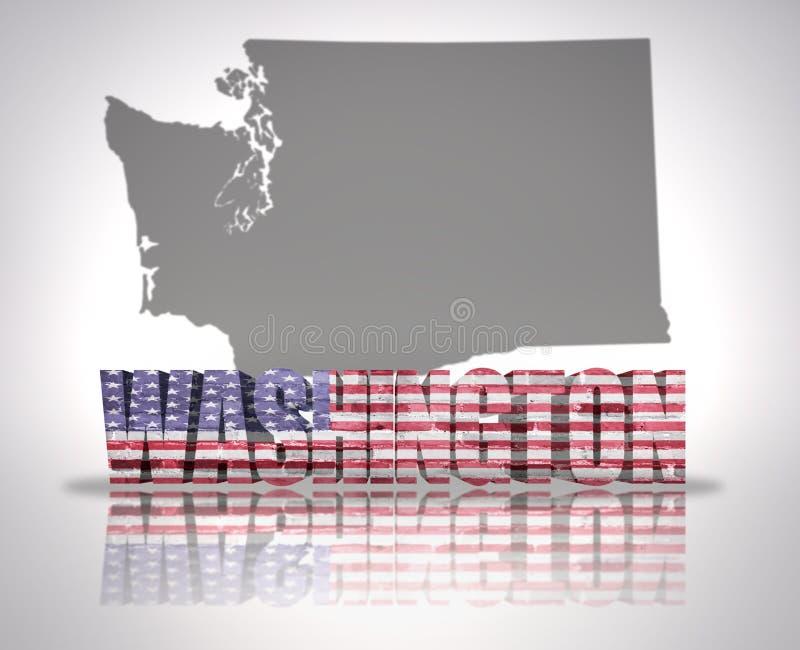 stan Washington ilustracji