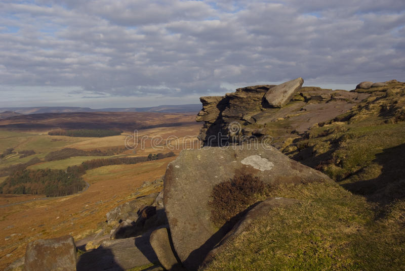 Download Stanage Edge stock image. Image of geological, fields - 18887209