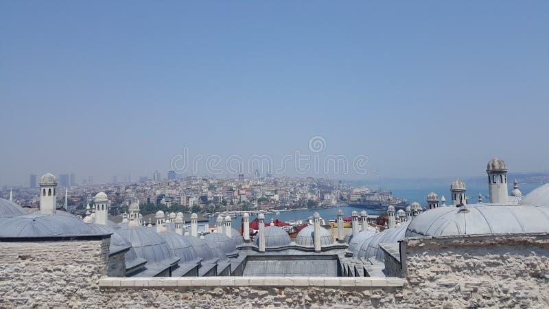 Stanbul panoramiczny widok zdjęcie stock