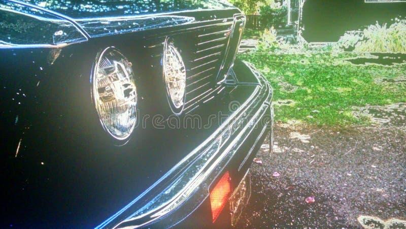 Stanced BMW e28 στοκ φωτογραφία με δικαίωμα ελεύθερης χρήσης
