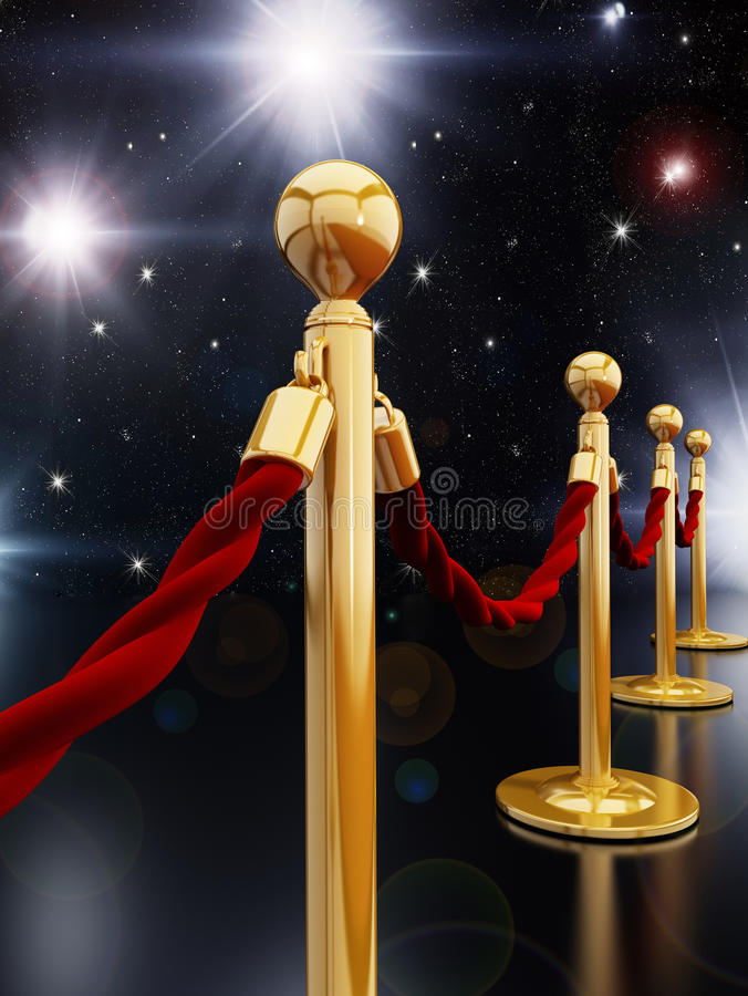 Free Stanchion Posts Stock Photos - 41674993