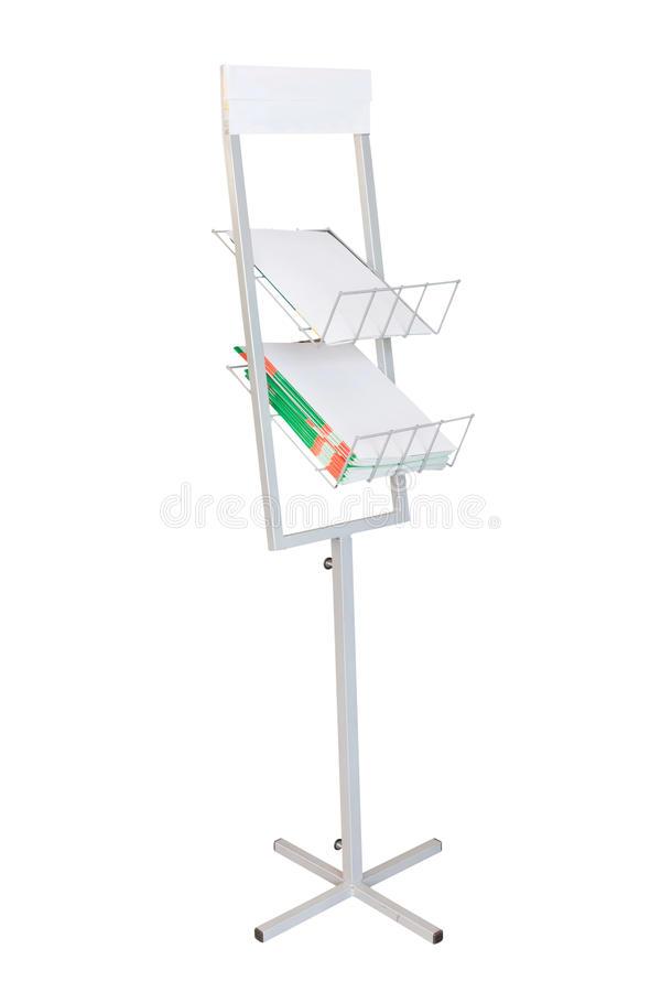 Download Stand stock image. Image of isolated, magazine, kiosk - 25706585