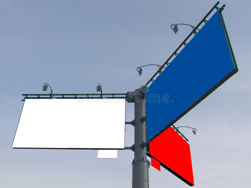 Stand advertising stock images