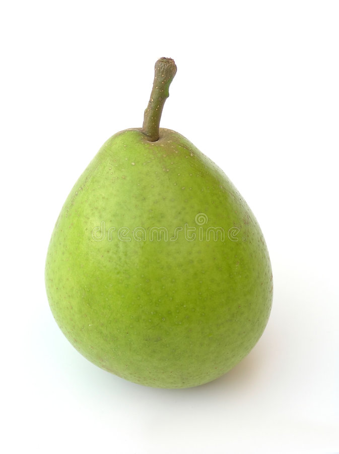 Stand alone pear stock photo
