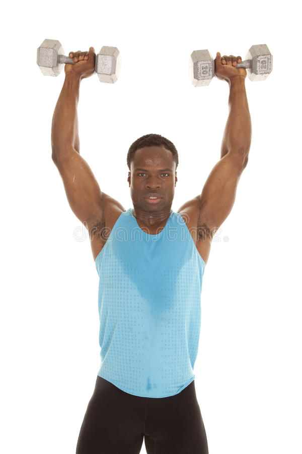 Stand Lift Weights Up Stock Photos