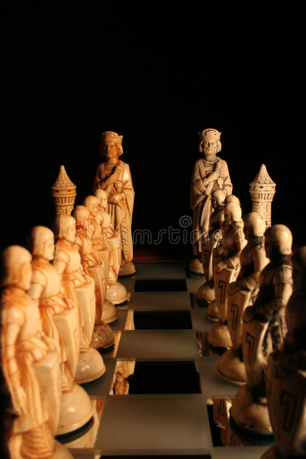 Download Stand Off stock image. Image of game, decide, chess, army - 188941