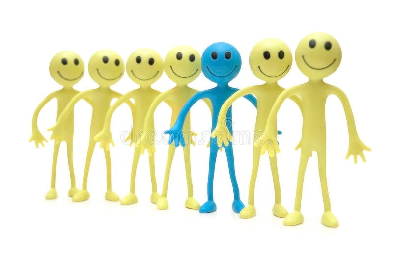 Download Stand Out From The Crowd Stock Photo - Image: 1414600