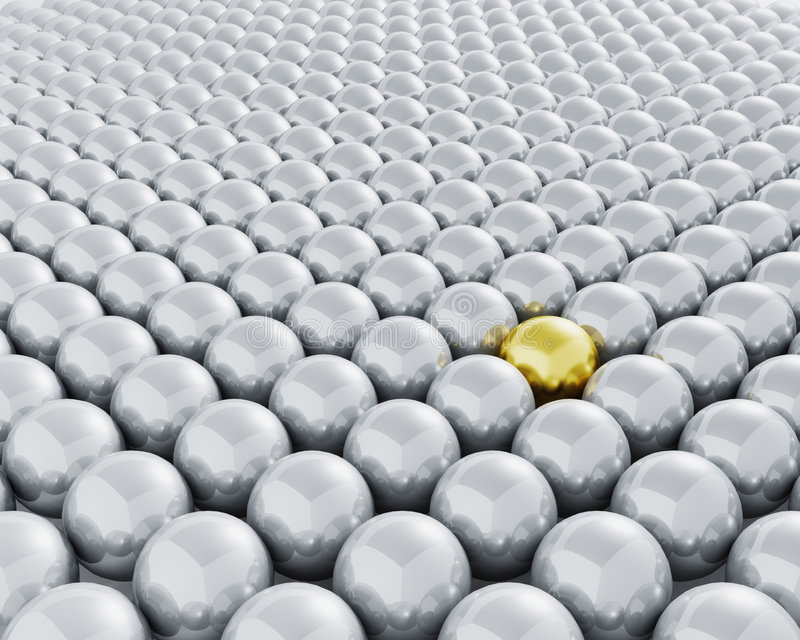 Download Stand out from the crowd stock illustration. Image of individuality - 3019712