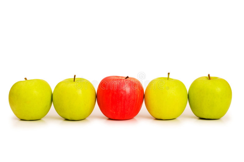Stand out from crowd concept royalty free stock photo