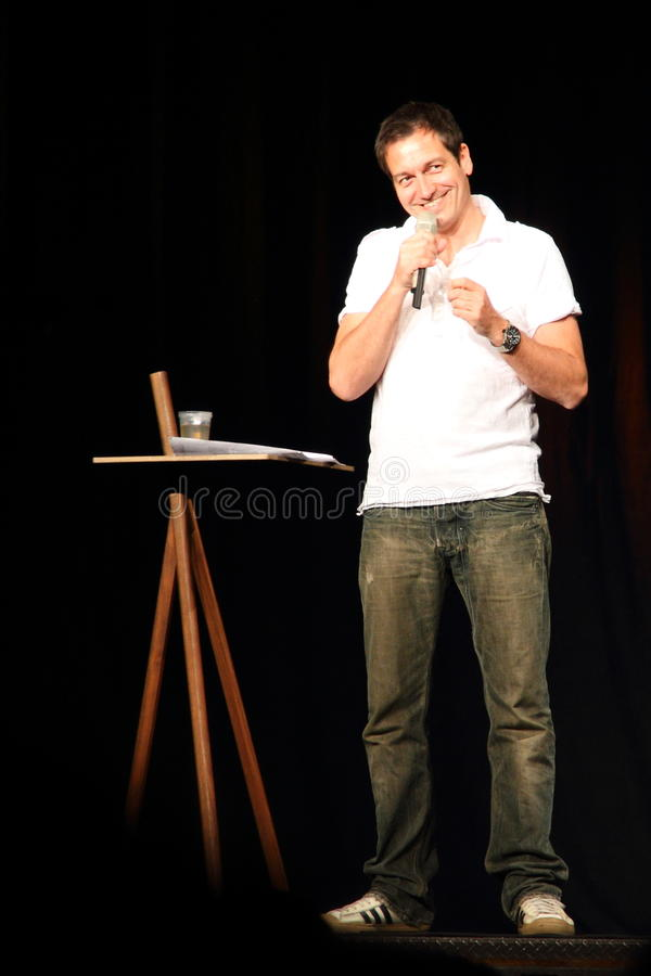 Free Stand Up Comedian Dieter Nuhr On Royalty Free Stock Photography - 14674777