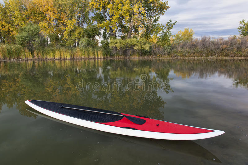 Download Stand up paddleboard stock photo. Image of scenic, water - 26809546