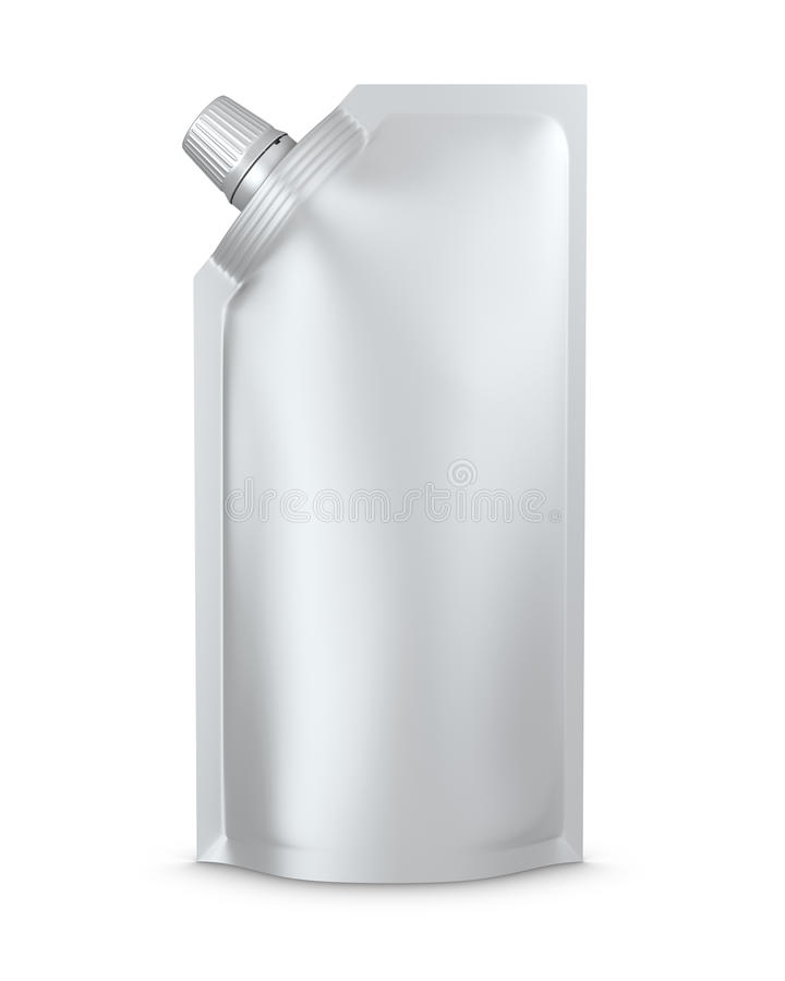 Stand-up spout pouch, doypack with cap
