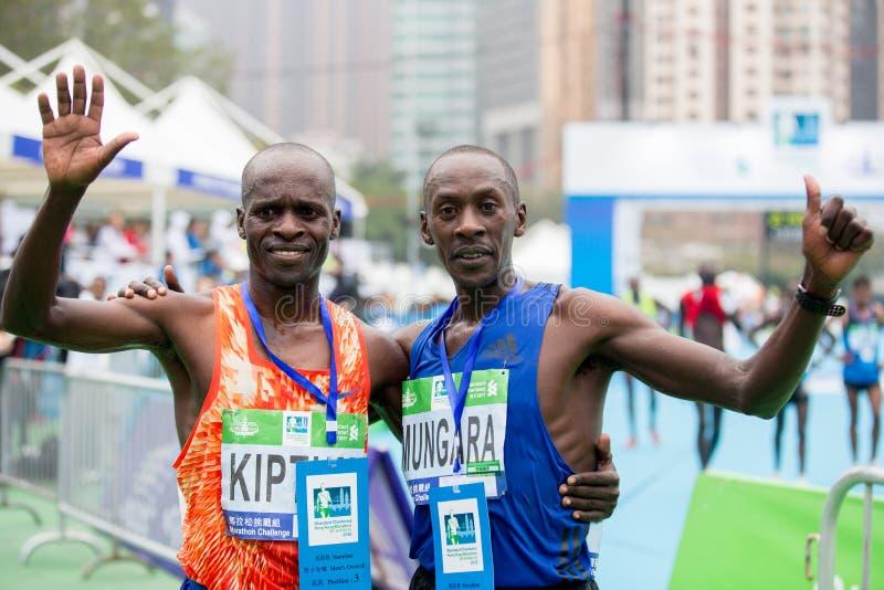 Standard Chartered Hong Kong Marathon 2018 imagen de archivo