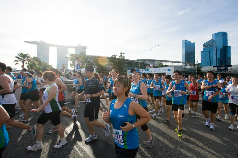 Download Standard Chartered Marathon Singapore 2010 Editorial Stock Image - Image: 17317219
