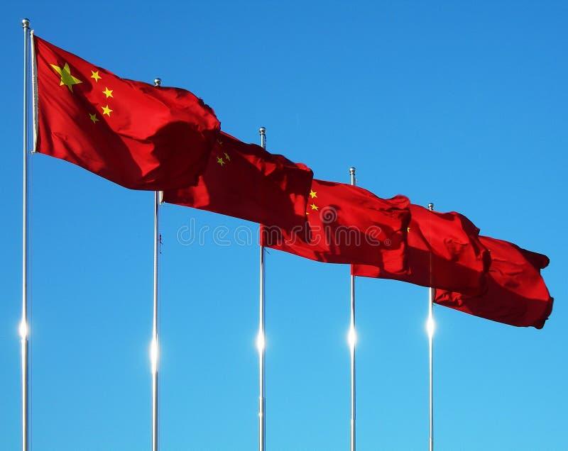 Standard della Cina immagini stock libere da diritti