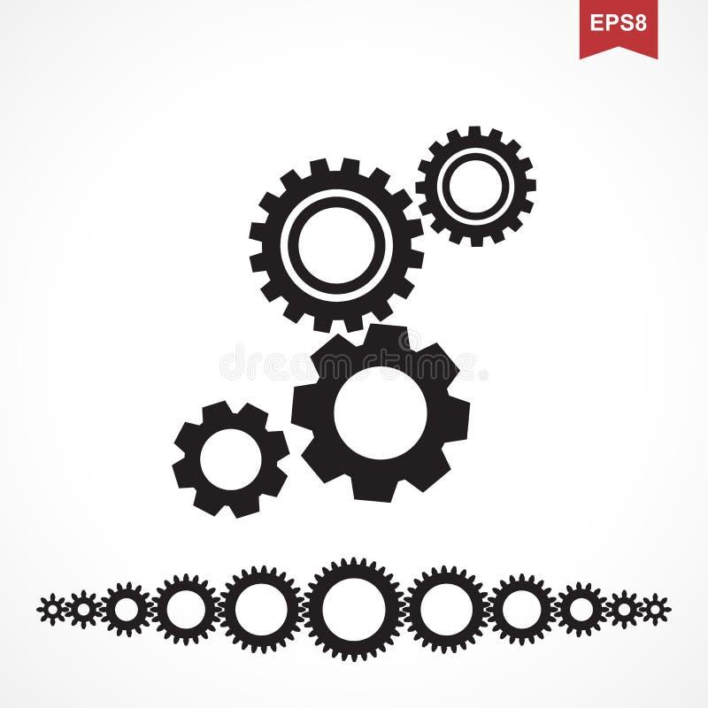 Standardgang-Vektor-Ikone lizenzfreie abbildung