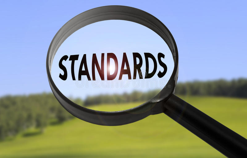 Standards royalty free stock image