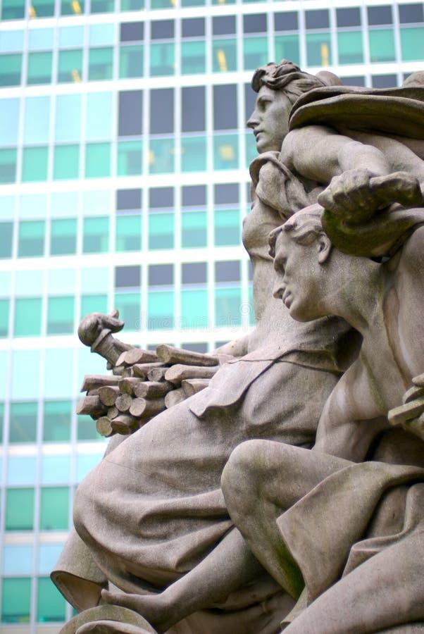 Standbeeld 2 van de vrijheid royalty-vrije stock afbeeldingen