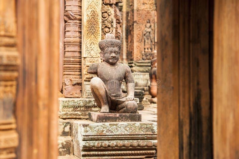 Banteay Srei royalty-vrije stock foto's