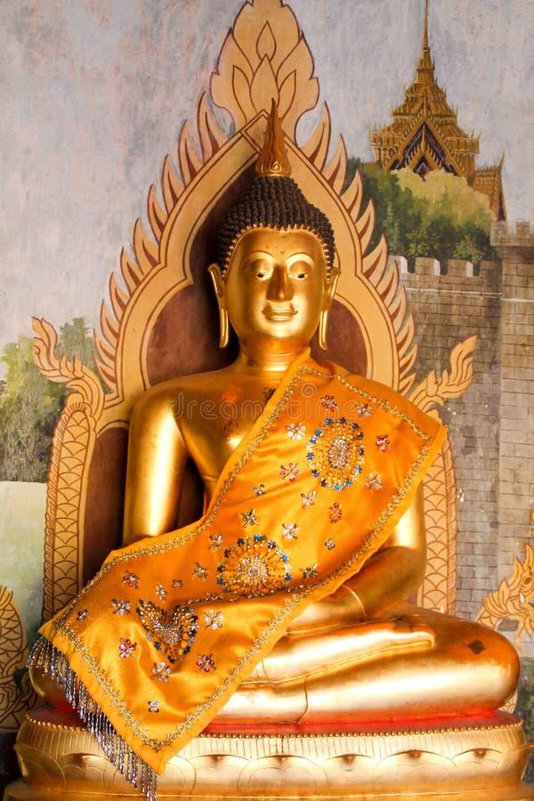 Standbeeld in Doi Suthep, Chiang Mai, Thailand stock afbeelding