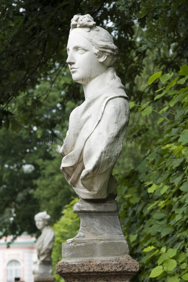 Standbeeld in het Park, Moskou royalty-vrije stock afbeelding
