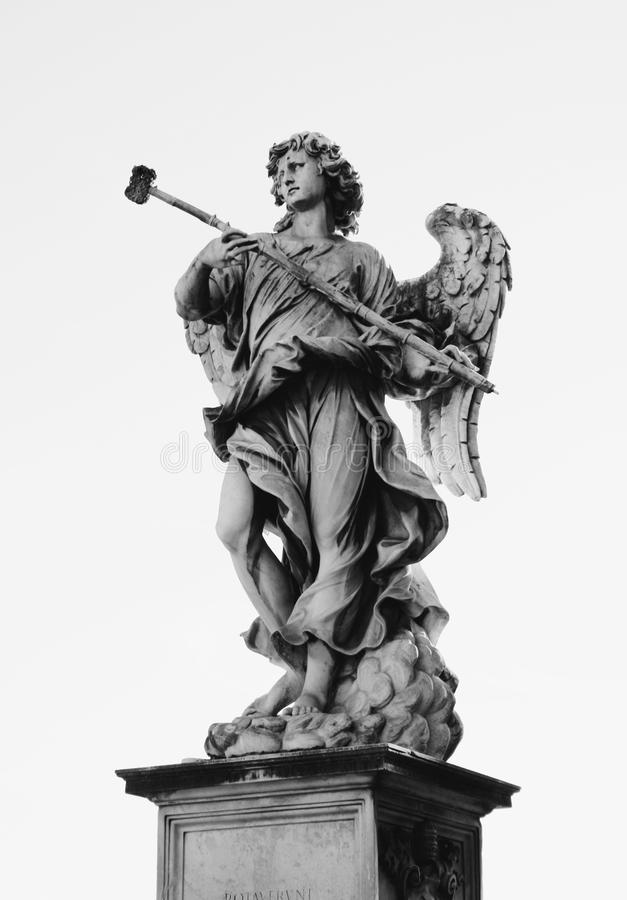 Standbeeld, Klassiek Zwart-wit Beeldhouwwerk, Beeldhouwwerk
