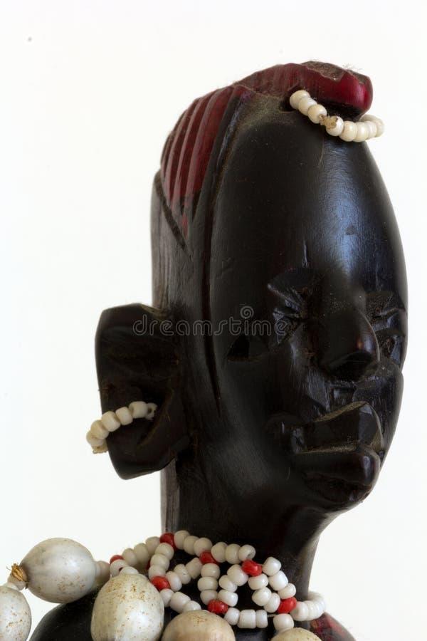Standbeeld Masai royalty-vrije stock foto's
