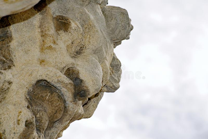 Standbeeld van Atlanta Corgon stock afbeeldingen