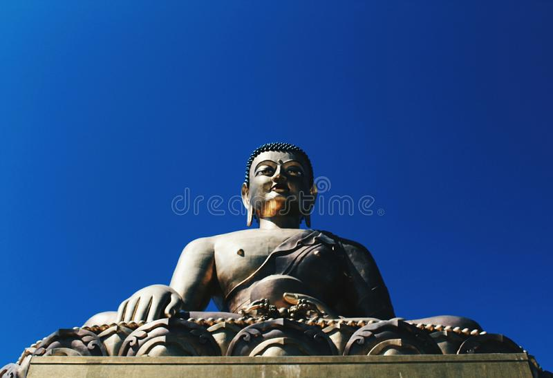 Standbeeld van Boedha stock afbeelding