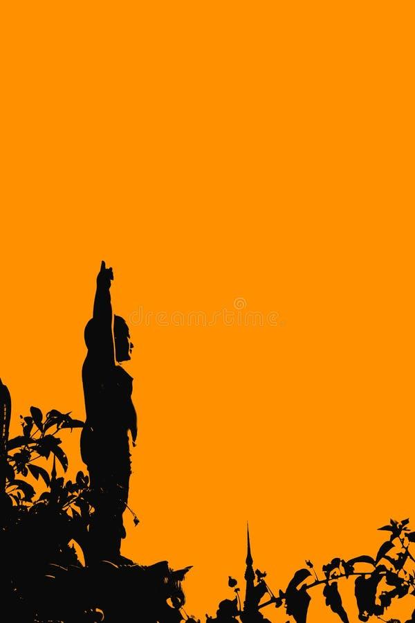 Standbeeld van Boedha-2 royalty-vrije stock afbeelding