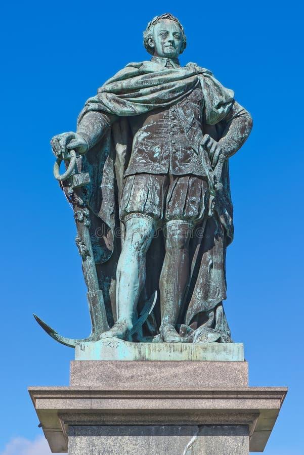 Standbeeld van Charles XIII in de Koningentuin, Stockholm royalty-vrije stock afbeelding