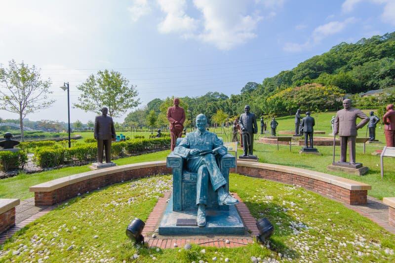 Standbeeld van chiangkai shek royalty-vrije stock fotografie