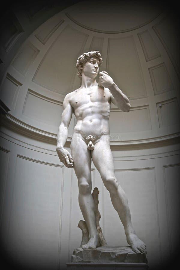 Standbeeld van David door Michaelangelo royalty-vrije stock afbeeldingen
