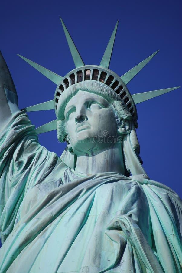 Standbeeld van de close-up van de Vrijheid stock foto's