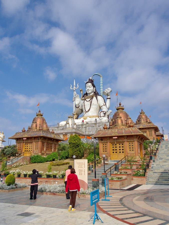 Standbeeld van de Ramayana het Hindoese God in Namchi-Stad, de Staat van Sikkim in India, stock foto's