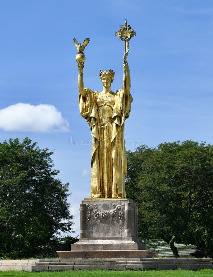 Standbeeld van de Republiek royalty-vrije stock foto's