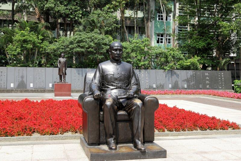 Standbeeld van Dr. Sun, nog-Sen stock foto